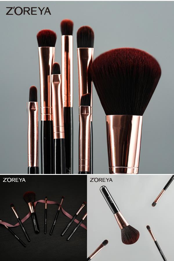 【7支装】zoreya全套化妆刷套装