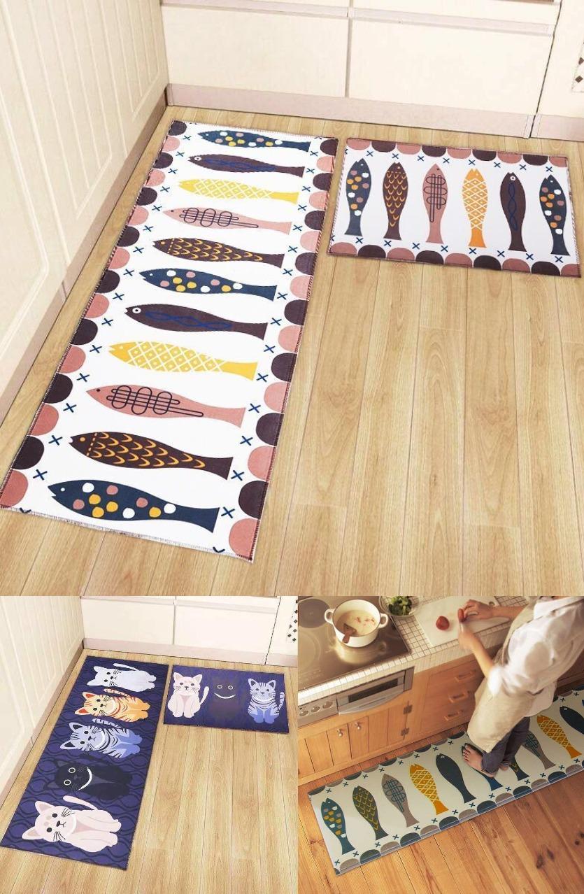 厨房防滑地垫家用门垫吸水可机洗地毯进门垫